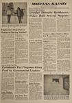 Montana Kaimin, January 16, 1963