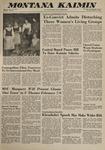 Montana Kaimin, January 17, 1963