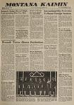 Montana Kaimin, January 18, 1963
