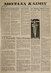 Montana Kaimin, January 22, 1963