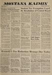 Montana Kaimin, January 24, 1963