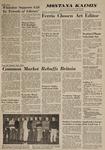Montana Kaimin, January 30, 1963