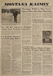 Montana Kaimin, February 5, 1963