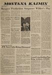 Montana Kaimin, February 8, 1963