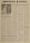 Montana Kaimin, March 13, 1963