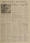 Montana Kaimin, April 11, 1963