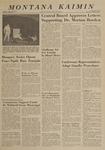 Montana Kaimin, April 18, 1963