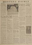 Montana Kaimin, April 23, 1963