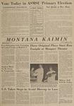 Montana Kaimin, April 25, 1963
