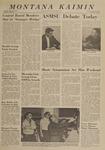 Montana Kaimin, April 30, 1963
