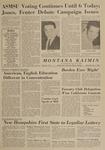 Montana Kaimin, May 1, 1963