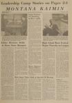 Montana Kaimin, May 7, 1963