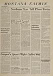 Montana Kaimin, May 14, 1963
