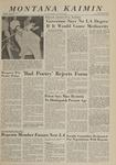 Montana Kaimin, May 29, 1963
