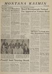 Montana Kaimin, May 31, 1963