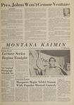Montana Kaimin, October 4, 1963