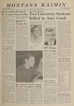 Montana Kaimin, October 8, 1963