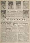 Montana Kaimin, October 9, 1963