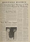 Montana Kaimin, October 17, 1963