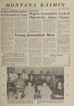 Montana Kaimin, October 18, 1963