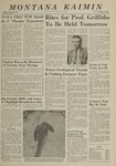 Montana Kaimin, October 29, 1963