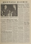 Montana Kaimin, October 31, 1963