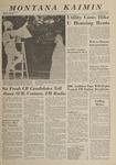 Montana Kaimin, November 1, 1963