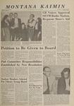 Montana Kaimin, November 14, 1963