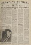 Montana Kaimin, November 19, 1963