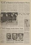 Montana Kaimin, November 22, 1963