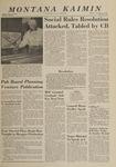 Montana Kaimin, December 5, 1963