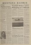 Montana Kaimin, December 10, 1963