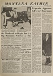Montana Kaimin, January 10, 1964