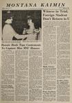 Montana Kaimin, January 14, 1964