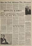 Montana Kaimin, January 21, 1964