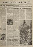 Montana Kaimin, January 22, 1964