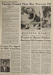 Montana Kaimin, January 29, 1964