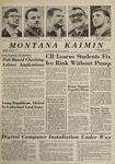 Montana Kaimin, January 30, 1964