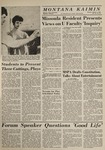 Montana Kaimin, March 3, 1964