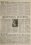 Montana Kaimin, March 6, 1964