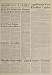 Montana Kaimin, April 21, 1964