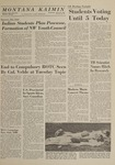Montana Kaimin, April 29, 1964