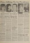 Montana Kaimin, April 30, 1964