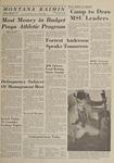 Montana Kaimin, May 8, 1964