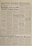 Montana Kaimin, May 14, 1964