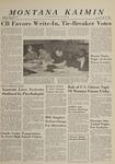 Montana Kaimin, May 21, 1964
