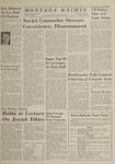 Montana Kaimin, May 22, 1964