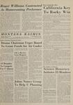 Montana Kaimin, May 27, 1964