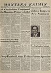 Montana Kaimin, June 2, 1964