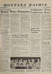 Montana Kaimin, June 3, 1964